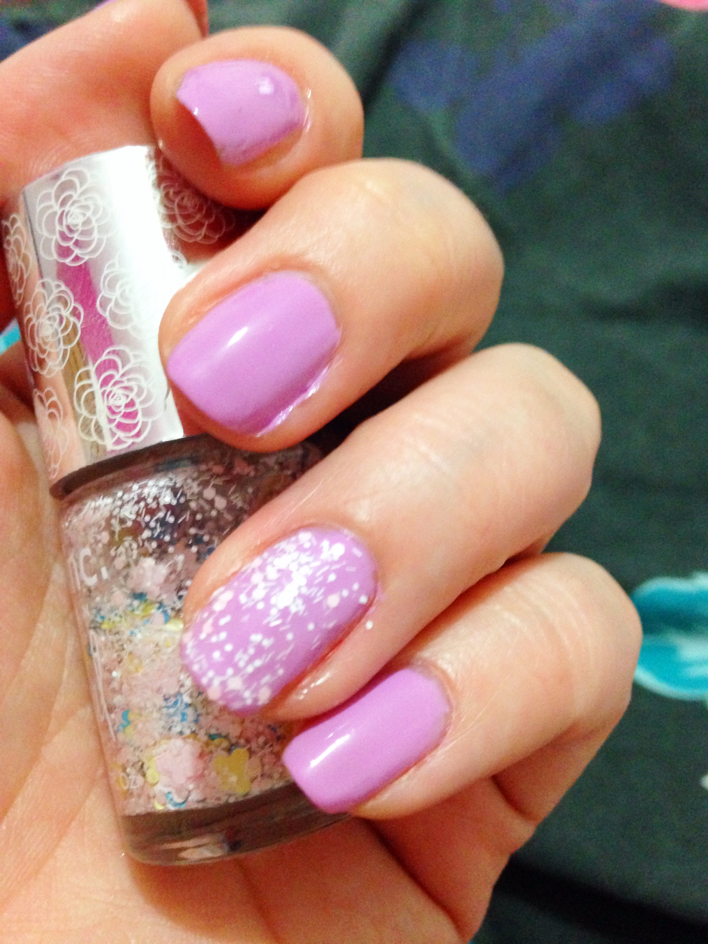 What's on my nails; Barry M & Nails Inc