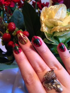My Christmas Nails: House of Holland Nails Xmas Santa Baby