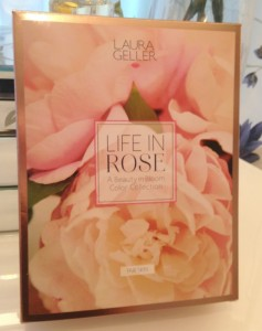 Laura Geller Life in rose collection