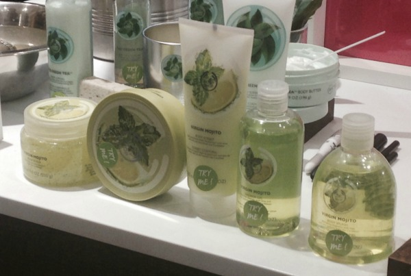 Body Shop Mojito Range