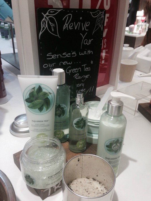 The Body Shop Green Tea Range