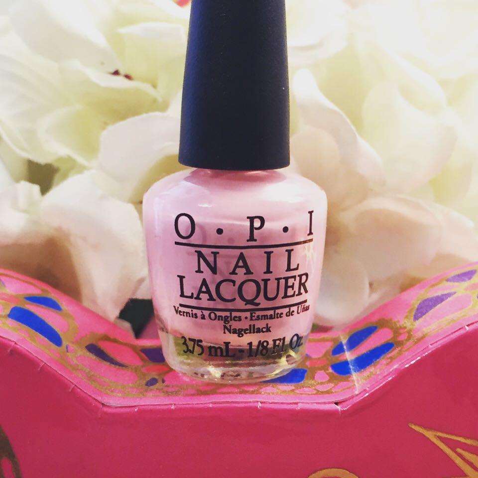 I love this baby pink from @opinailsuk that @justmylook sent me