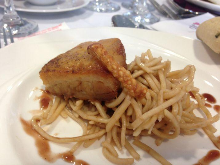 Belly Pork- Doncaster races food