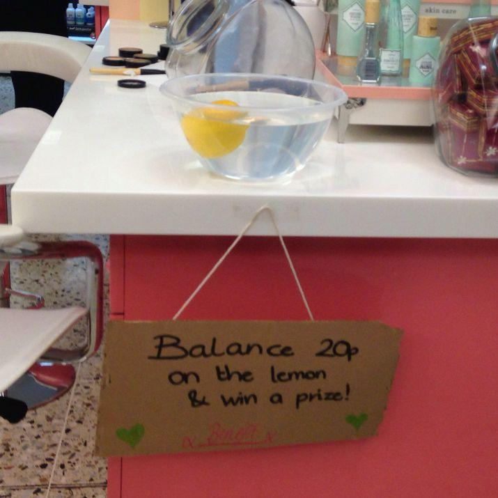 Benefit Lemon Challenge