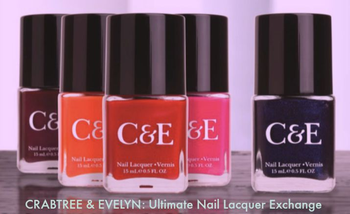 Crabtree & Evelyn- Ultimate Nail Lacquer Exchange