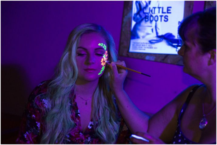 #Lets Glow Face Painting