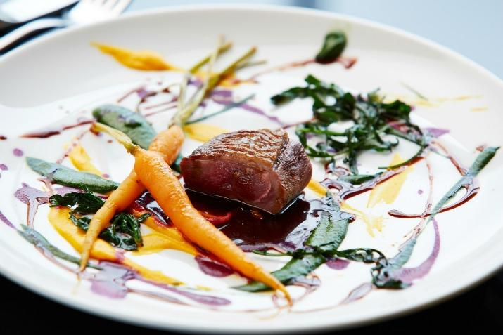 Duck, Carrot, Spinach- Harvey Nichols Art of Style Event