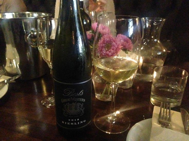 Best's Great Western Riesling 2012 vintage