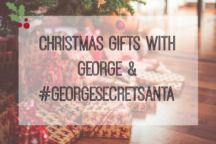 Christmas Gifts With George | #GeorgeSecretSanta