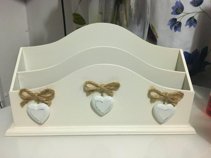 Wooden letter rack - george asda