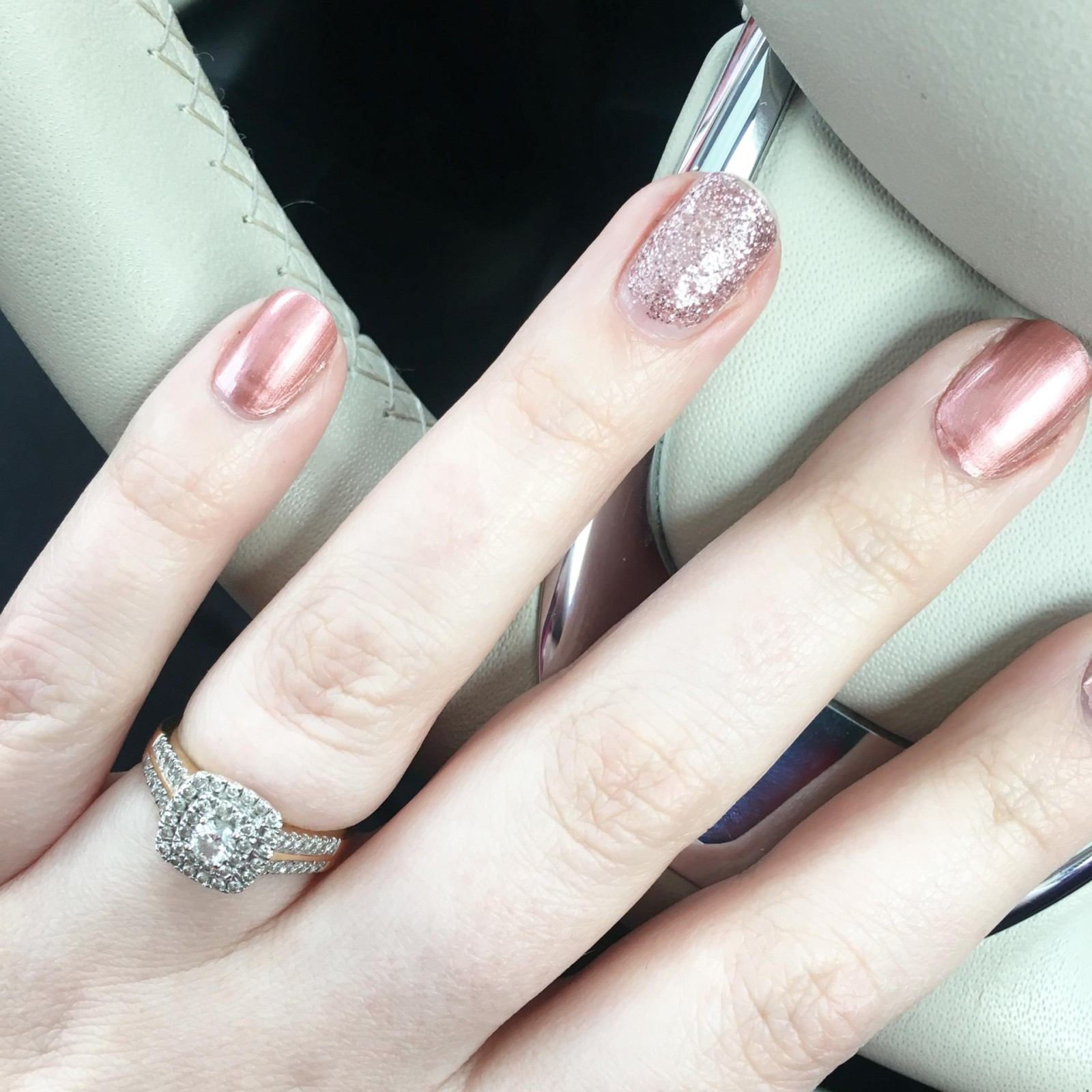 Models Own Rose Gold Nail Polish